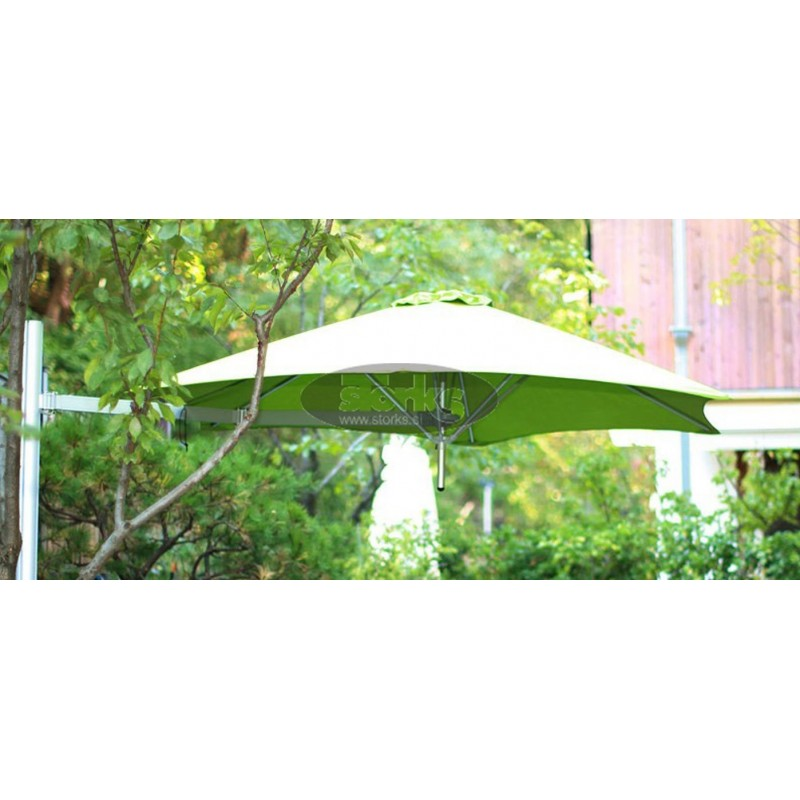 Paraflex hexagonal umbrella, 270 cm
