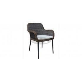 Palm stol z rokonasloni, barva: temno vzdušje