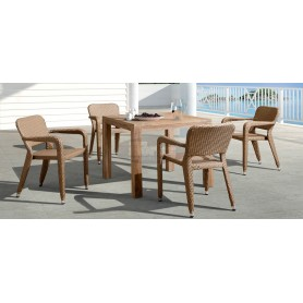 Smart wicker SET, color: natural