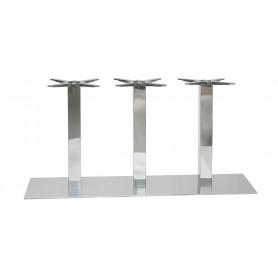 Tlim 154 3 INOX podnožje za mizo