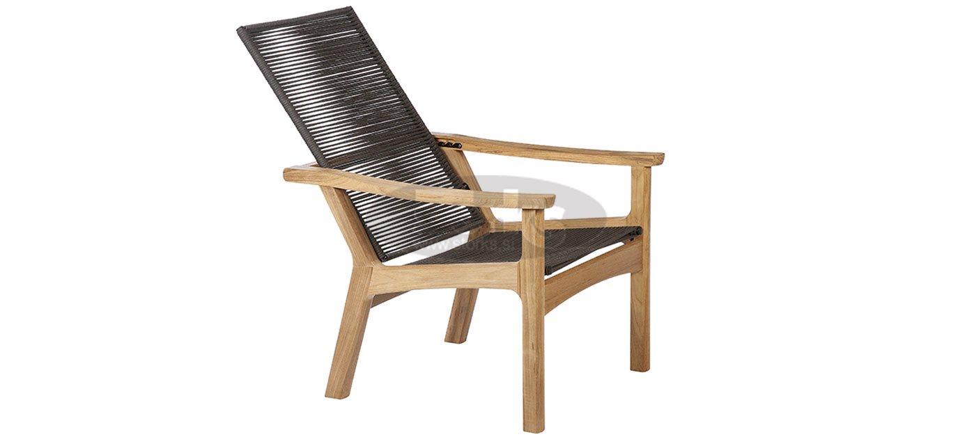 Barlow Tyrie Monterey Armchair Deep Seating   Teak U0026 Cord