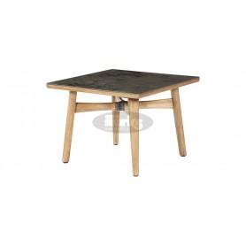 Barlow Tyrie Monterey kvadratna miza 100 cm- tik in keramika