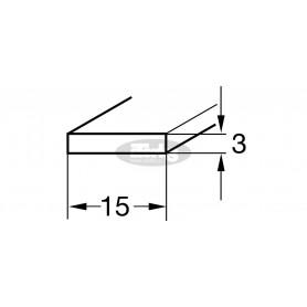 Trak proti zdrsu 3 x 15 mm