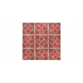 SM France Belle Faience rouge tabletop