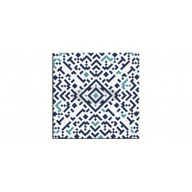 SM France Belle Mosaic bleu tabletop