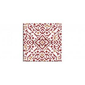 SM France Belle Époque Mosaic rouge mizna plošča