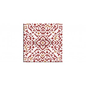 SM France Belle Mosaic rouge tabletop