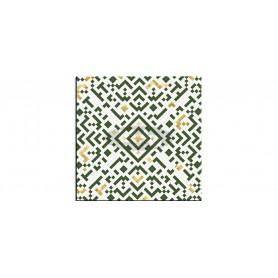 SM France Belle Mosaic vert tabletop