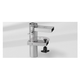 Wall consoles U for the table top, Ø 31 – 40 mm, high-grade steel 1.4301 / 304, for horizontal flat railing, square profile up t
