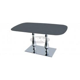 Tlim 84 2 LIB INOX podnožje za mizo
