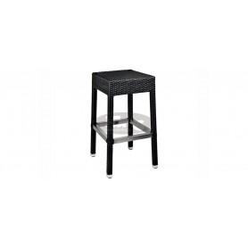 Casale low barski stol, barva: temno rjava