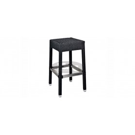 Casale low barstool, color: black
