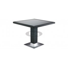Casale table 80 x 80 cm, color: black