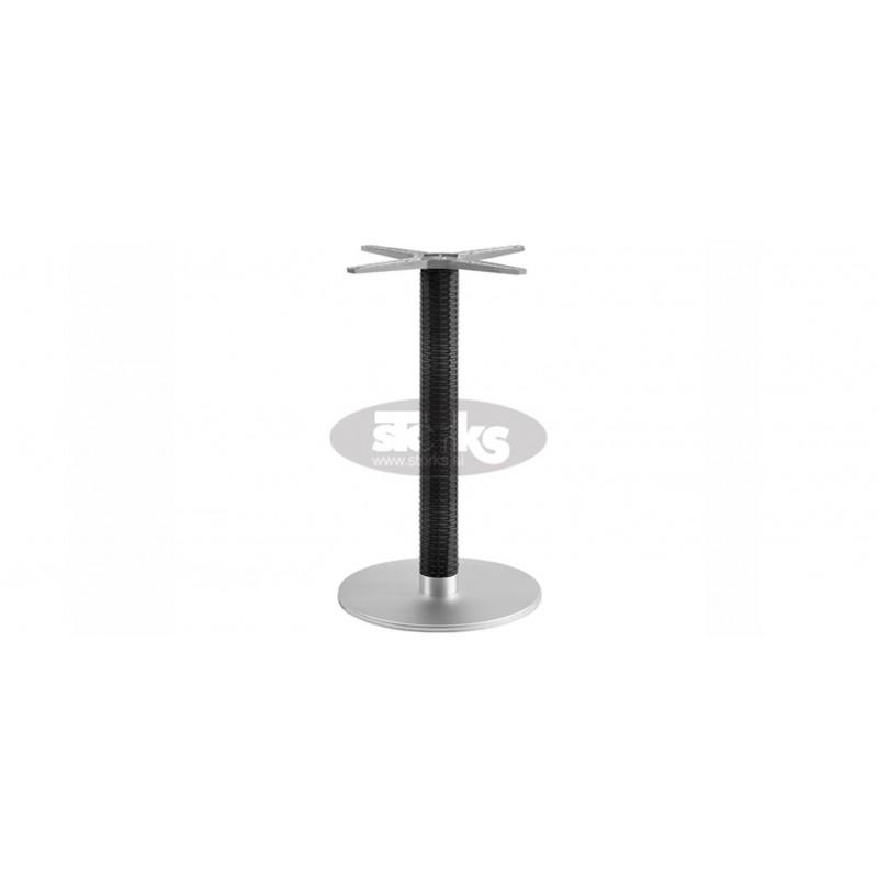 Casale Wicker Round Table Base, Color: Black