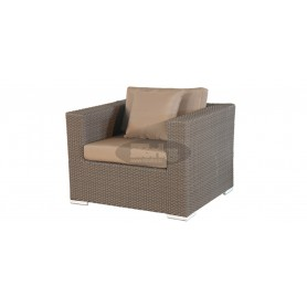 Porto sofa, color: mixed brown