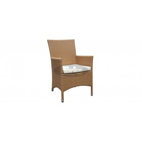 Cage K armchair, color: sand