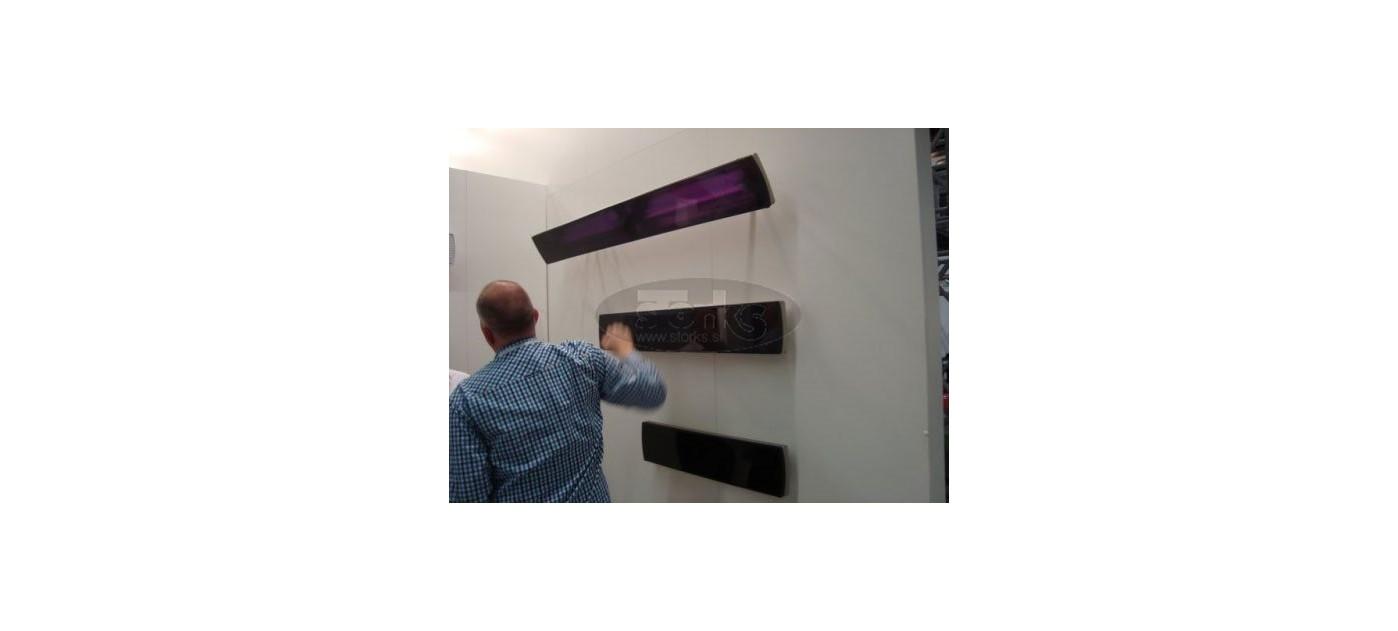 heatscope vision black 1600w ip44 storks. Black Bedroom Furniture Sets. Home Design Ideas