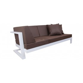 Toscana sofa with left arm