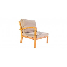 Milano armchair with left arm