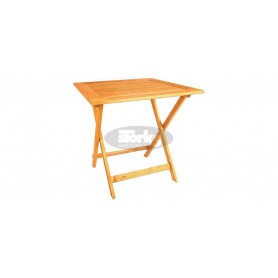 Galaxy folding table 70 x 70 x v72 cm