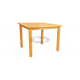 Kansas table 90 x 90 x v72 cm