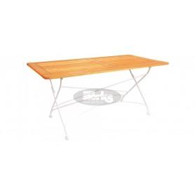London zložljiva miza z okvirjem 120 x 80 x v78 cm