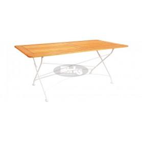London zložljiva miza z okvirjem 160 x 80 x v78 cm