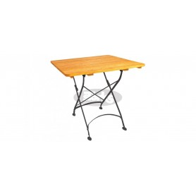 Maja zložljiva miza 80 x 80 x v78 cm