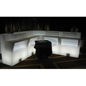 JUBILE corner light bar counter