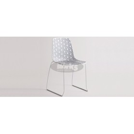 Toulouse chair with 4 connected legs