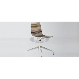 Cinquecolori L stol in krom nogo