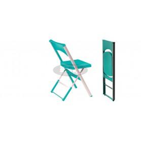 Line folding chair