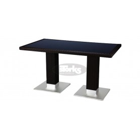 Casale table 80 x 140 cm, color: mocca