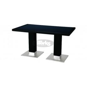 Casale miza 80 x 140 cm, barva: črna