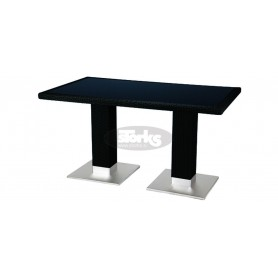Casale table 80 x 140 cm, color: black