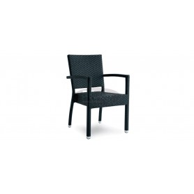 Casale Open armchair, color: white