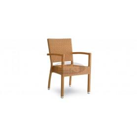 Casale Open Premium stol z rokonasloni, barva: naravna