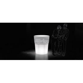 ROCKS svetleča vaza