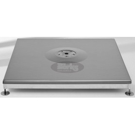 Base M4, 120 kg with cover, galvanized steel