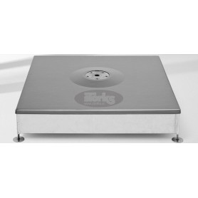 Base M4, 180 or 240 kg with cover, galvanized steel