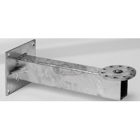 Wall console M4, extension 480 mm, galvanized steel