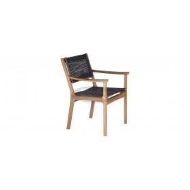 Barlow Tyrie Monterey Armchair - Teak & Cord