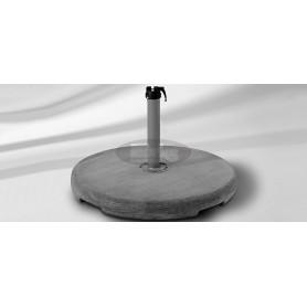 Concrete base Z, 70 kg, R 75 x v9 cm