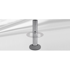 Support tube M4, P+, galvanized steel