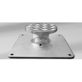 Mounting plate M8, special for installation height 50-149 mm, galvanized steel