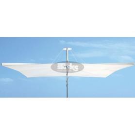 Infinia square umbrella, 250 x 250 cm