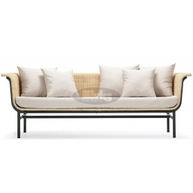 Wicked lounge sofa rattan