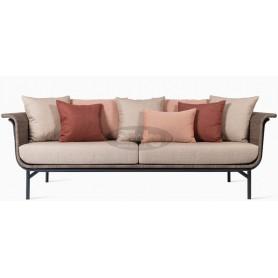 Wicked lounge sofa rattan
