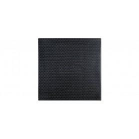 126 Rattan black tabletop