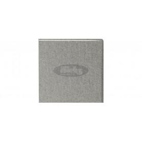288 Silk gris perle tabletop